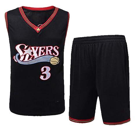 PPXJERSEY Camiseta De Baloncesto Iverson No.3 Jersey Traje De ...