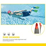 FINIS Long Floating Fins , Red/Grey, L