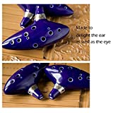 Aovoa Legend of Zelda Ocarina 12 Hole Alto C with