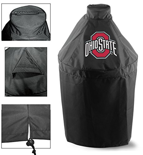 Holland Covers GC-K-OhioSt Officially Licensed Ohio State University Kamado Style Grill Cover
