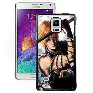 New Personalized Custom Designed For Samsung Galaxy Note 4 N910A N910T N910P N910V N910R4 Phone Case For Bleach Anime Series Phone Case Cover