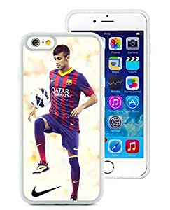 Customized Neymar 78 iPhone 6 4.7 Inch TPU Case in White WANGJING JINDA