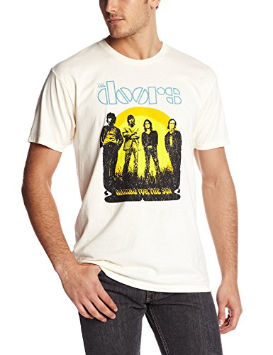 Bravado Men's The Doors Waiting For The Sun T-Shirt, Off-White, X-Large