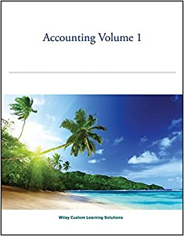 Accounting volume 1 wiley custom learning solutions fifth edition accounting volume 1 wiley custom learning solutions fifth edition jerry j weygandt donald e kieso paul d kimmel 9781119186373 amazon books fandeluxe Gallery