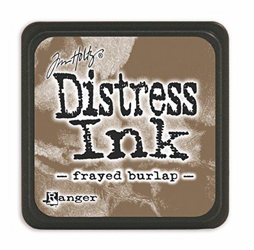 Distress Ink Frayed Burlap (Distress Mini Ink Pad-Frayed Burlap)