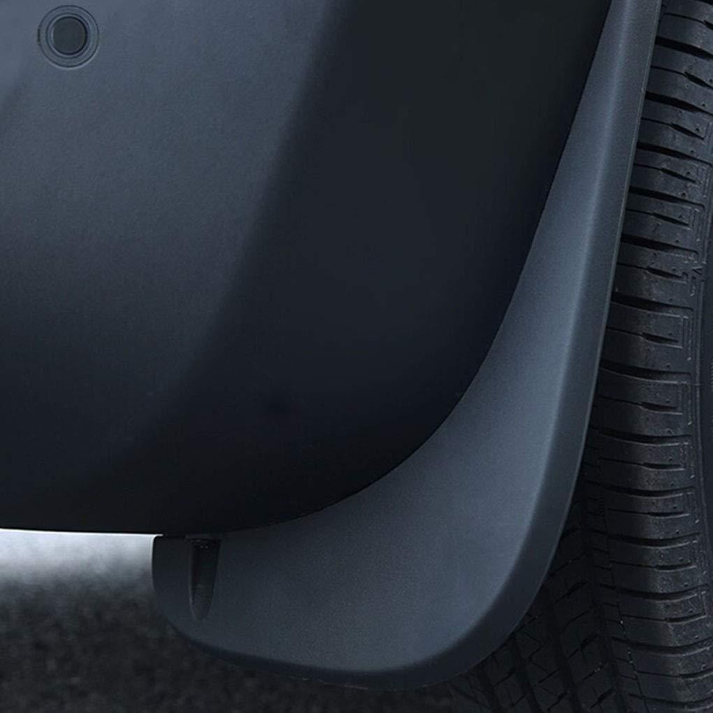 fgyhtyjuu Barro Guardabarros Trasero Flaps Frente del Coche de pl/ástico ABS Splash Protector de reemplazo para Jeep Renegade 2016