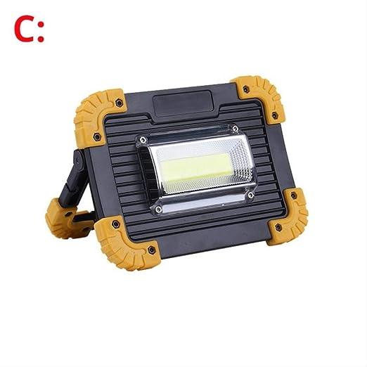 Foco LED Recargable 100w Led Portátil Proyector 40000lm Super ...