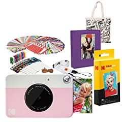 Point, shoot and print with the Kodak Instant Print Camera Forget computers. Forget cumbersome printers. The Kodak Printomatic Camera prints smudge-proof, water- and tear-resistant photos up to 10 MP automatically. Just point, shoot and print...