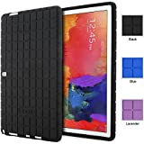 Poetic Samsung Galaxy Note Pro 12.2 / Tab Pro 12.2 Case [GraphGrip Series] - Protective Silicone Skin Case for Samsung Galaxy Note Pro NotePRO 12.2 / Tab Pro TabPRO 12.2 (SM-P900 / SM-P905 / SM-T900 / SM-T905) Black (3-Year Manufacturer Warranty from Poetic)