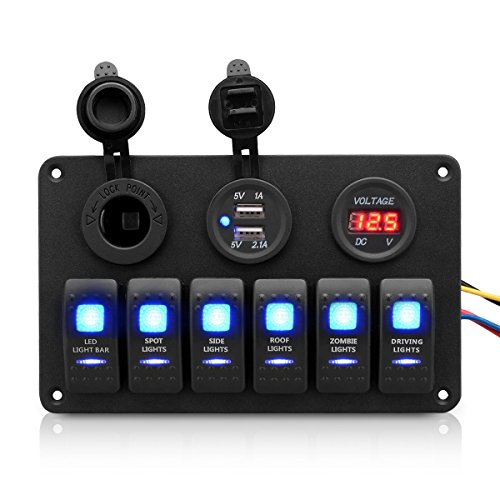 excelvan-6-gang-dc-12v-24v-aluminum-switch-panel-breakers-waterproof-with-usb-power-charger-cigarett