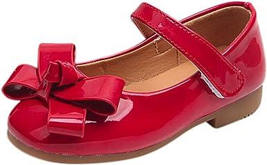 Zapatos Niña,Sandalias de niña Bowknot Sneaker para bebés Niños pequeños Zapatos ocasionales suaves casuales LMMVP: Amazon.es: Ropa y accesorios