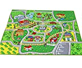 Large Kid Play Rug for Toy Cars,Safe and Fun Children Learning Carpet with Non-Slip Backing Kid Play mat for Playroom,Bedroom and Nursery (39
