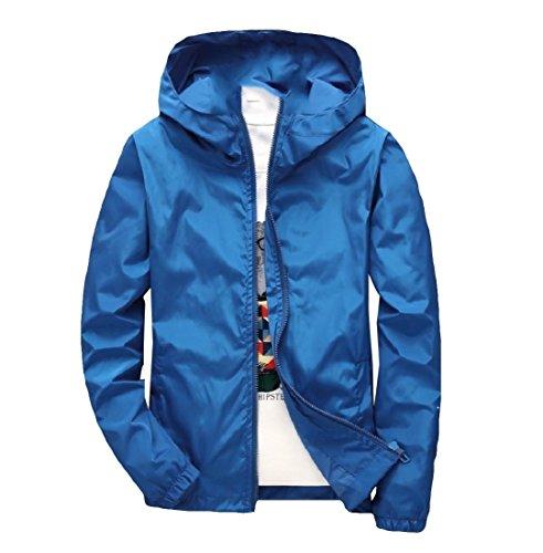 Blu Di Cappotti Vestiti Sportiva Bomber Uomini Con Uomini Againg Reale Outwear Esterni Svago Degli Cappuccio Againg qX7gUgn1