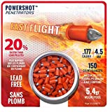 Sporting Goods : Crosman Powershot Fast Flight Penetrators 150 ct