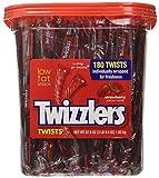 Twizzlers Strawberry Candy Twists - 180 Pcs, 3LB 9.5 OZ