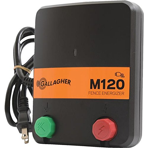 Gallagher M120 Electric Fence Charger - 1 Each