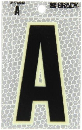 Prismatic Letter (Brady 3010-A 3-1/2