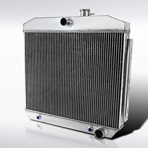 Autozensation For Chevy Bel-Air/Nomad 3-Core Full Aluminum Racing Cooling Radiator