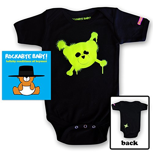 (Rockabye Baby! Lullaby Renditions of Creedence Clearwater Revival + Organic Baby Bodysuit)