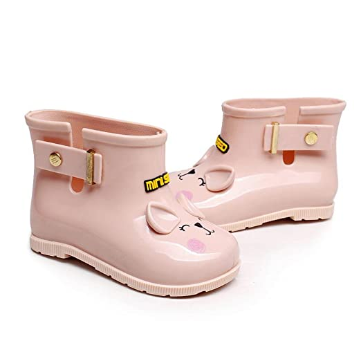 Rucan Toddler Infant Rubber Rain Boots