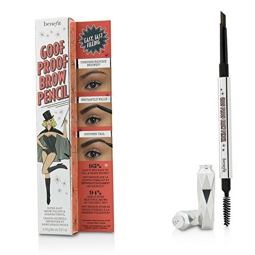 Benefit Goof Proof Brow Pencil Super Easy Eyebrow Shaping and Filling Tool - Shade (Pencil Shade)