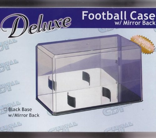 Hat Protech - Crystal Case Deluxe Football Case with Mirror Back