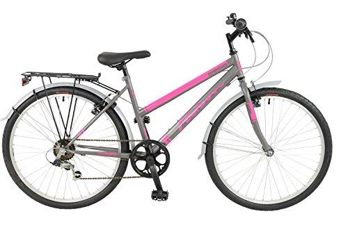 FalconExpression 2016 Unisex Mountain Bike Pink/Grey, 19' inch steel frame,...