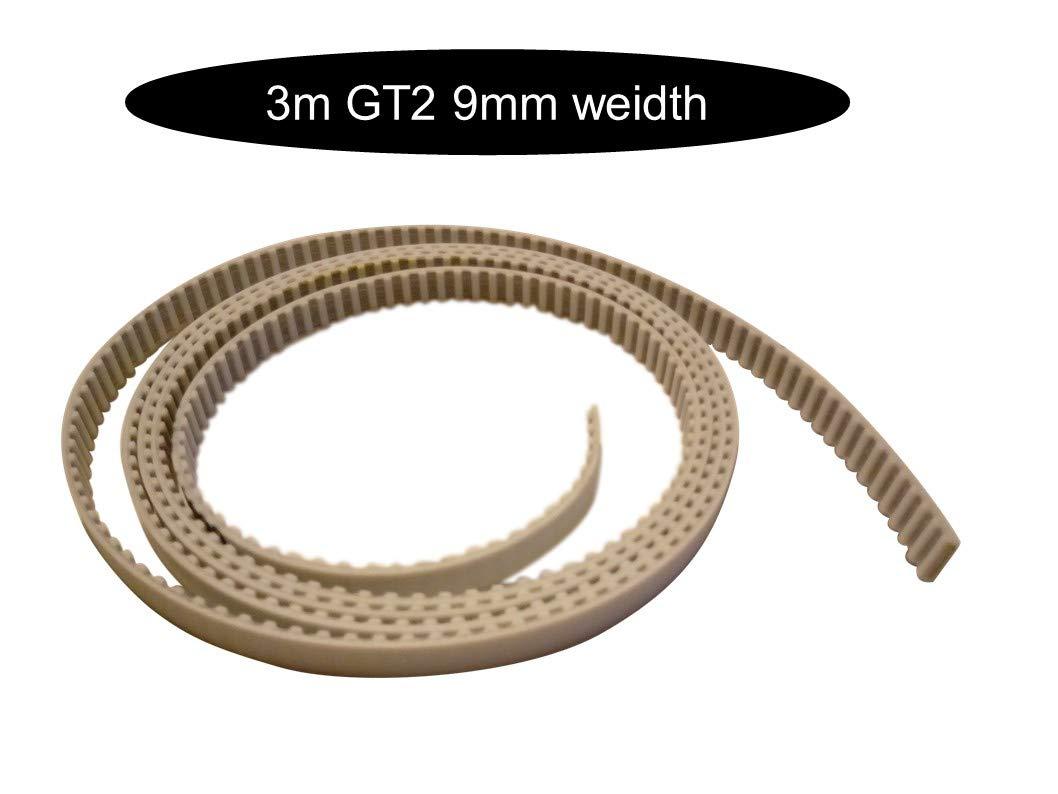 x 1m GT2-9mm Stahl GT2 9mm Breite Zahnriemen mit Stahlkern je nach Meter Wahl offen