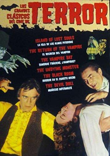 Los Grandes Clasicos Del Cine De Terror [DVD]: Amazon.es ...