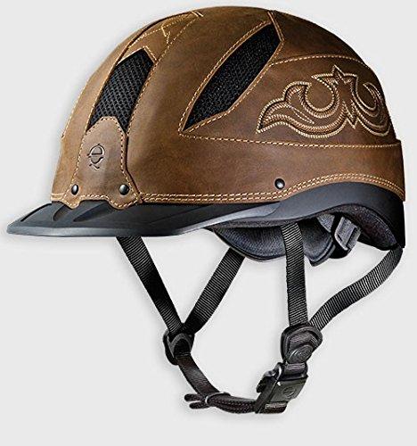 TROXEL WESTERN RIDING HELMET CHEYENNE LOW PROFILE ALL SIZES (Medium) (Riding Western Helmets)