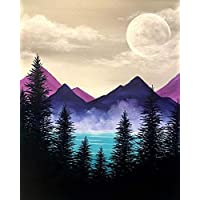 ACANDYL Paint by Number Mountains DIY Acrylic Painting Paint by Number Kit for Kids Adults Students Beginner DIY Canvas…