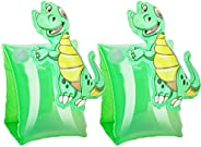 Inflatable Arm Floaties for Kids Toddlers, Swimiming Floater Sleeves Arm Bands Floaties Water Wings Floatation