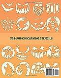 Pumpkin Carving Stencils Book | Spooky Halloween