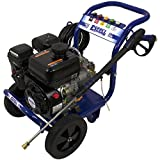 Excell EPW1792500 2500 PSI 2.5 GPM Cold Water 179CC Gas Powered Pressure Washer