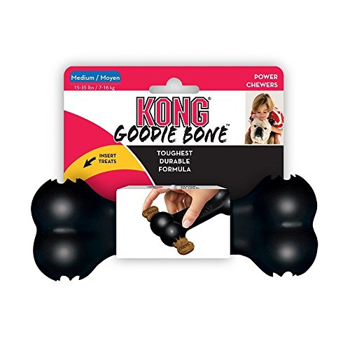 KONG Extreme Black Goodie Bone Dog Toy by SuccessfulDealsStore