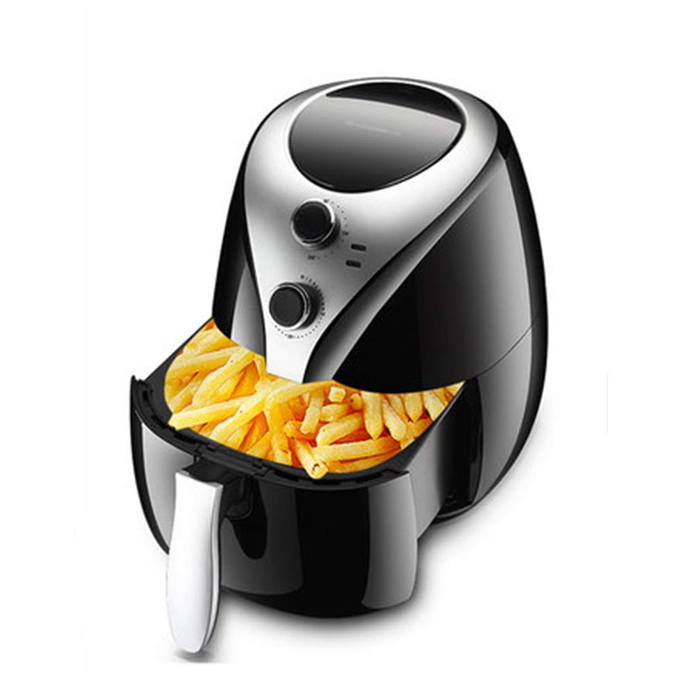 NAB325 5L Small Luxury Fryer with Temperature Controlled Oven, Perfect for Home, Office, Travel, Black by NAB325