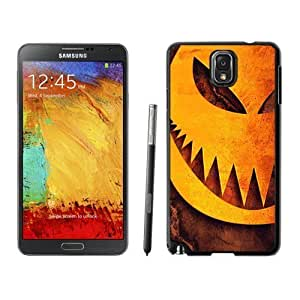 NEW Custom Designed For Iphone 5/5S Case Cover Phone With Halloween Pumpkin Sharp Teeth Illustration_Black Phone