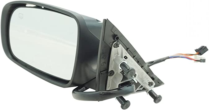 Exterior Power Heated Manual Folding Mirror Black RH Side for 08-14 Avenger