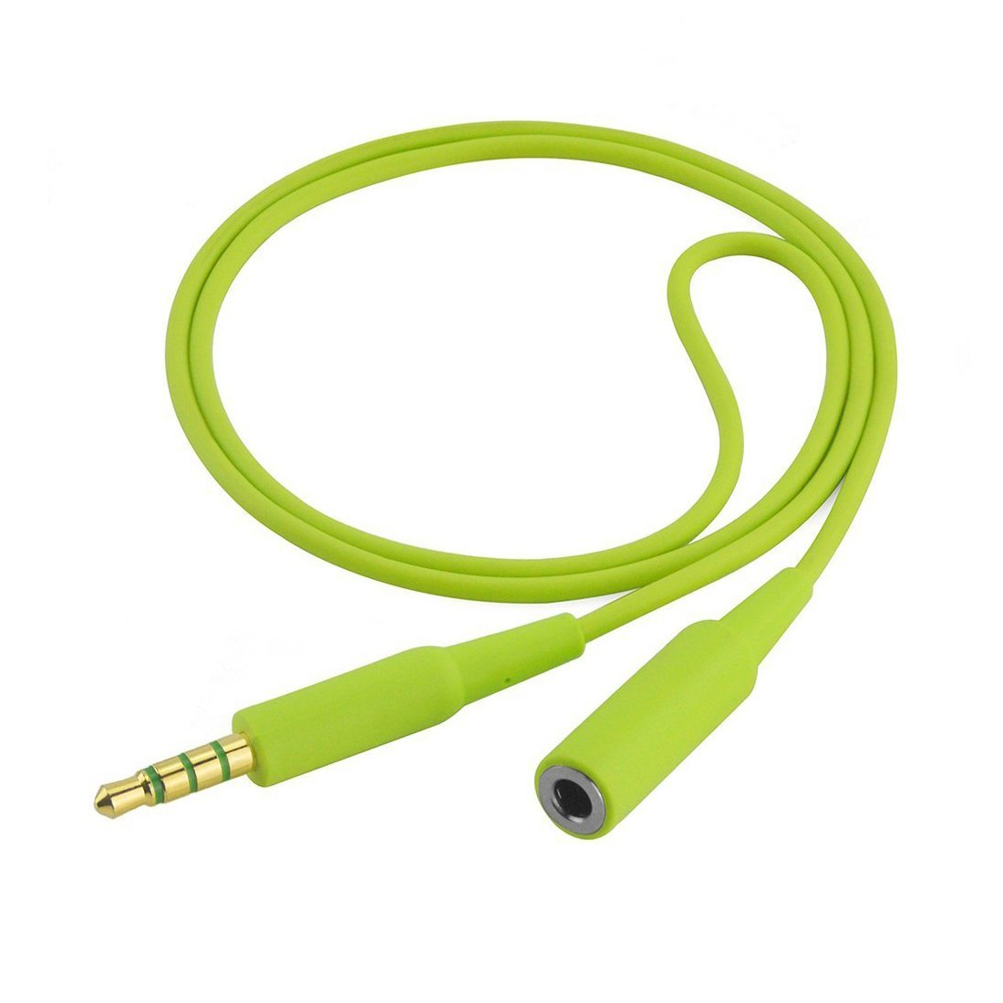 Geekria Extended Cord Bose SoundSport SIE2, SIE2I, Sony MDR-AS20J, AS200, Sennheiser CX380, CX686, Skullcandy Method, Sport Headphones Replacement Extension Cable (Green) EJX36-03