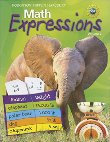 Math Worksheets houghton mifflin math worksheets grade 5 : Amazon.com: Math Expressions: Student Activity Book, Grade 3, Vol ...