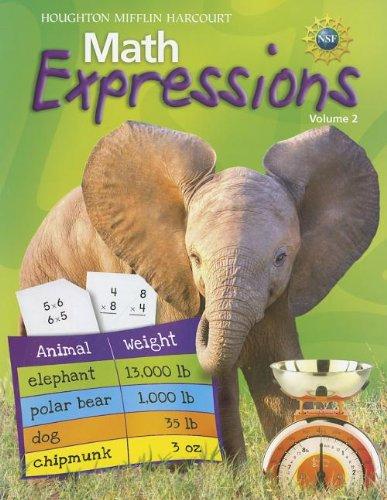 Math Expressions: Student Activity Book, Grade 3, Vol. 2