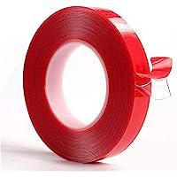 10 m transparante tape, 10 mm x 10 m, heavy duty, dubbelzijdig acryl, heldere montage, nano-tape, spoorloos…