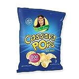 Wai Lana Cassava Pop Chips | Sea Salt, Gluten-Free, Vegan, 100 Calorie Bags, 0.8 Ounce (Pack of 24 Single Serve Chips) Review