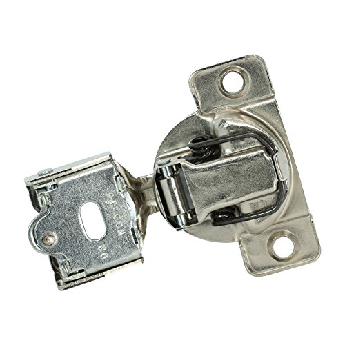 50 Pack Rok Hardware Grass TEC 864 108 Degree 1/4'' Overlay 3 Level Soft Close Screw On Compact Cabinet Hinge 04429A-15 3-Way Adjustment 45mm Boring Pattern by Rok (Image #4)