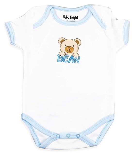 0-3 meses babero pantalones Beb/é reci/én nacido regalo 7 piezas con monos gorra camiseta guantes