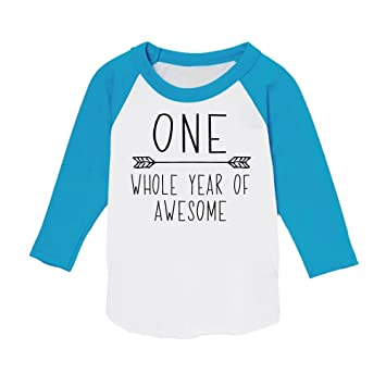 Amazon First Birthday Boy Outfit 1st Shirt Blue