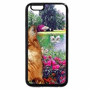 iPhone 6S / iPhone 6 Case (Black) Cat resting