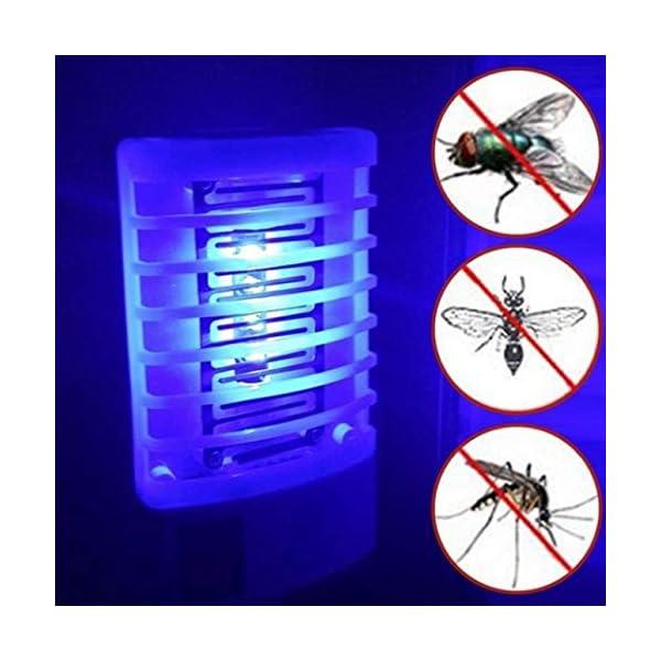 Ba30ITllylelly Ballylelly Fotocatalizzatore Mosquito Killer Lamp Repellente per zanzare Silenzioso Bug Insetto Controllo… 3 spesavip