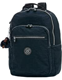 Kipling Seoul Large Backpack with Laptop Protection, True Blue, One Size