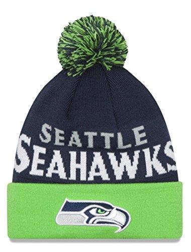別々にポジティブデータムSeattle Seahawks New Era NFL「冬Fresh
